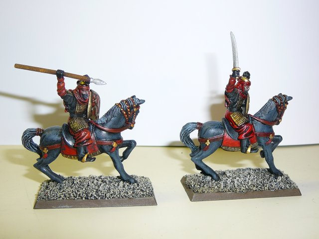 Conversion of an Haradan mounted chieftain pic.2